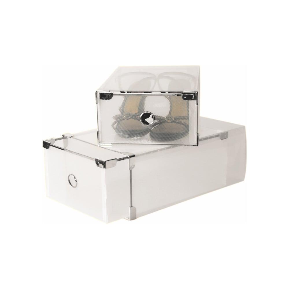 Set 2 krabic na boty Jocca Plastic Boxes, 34 x 22 cm