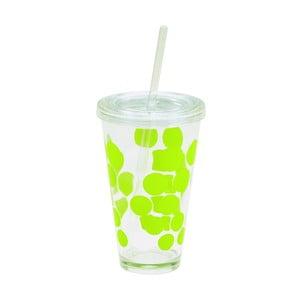 Sklenice Dot Dot Ice 480 ml, zelená