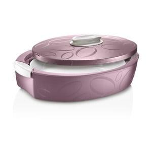 Cutie termică ovală cu vas de coacere Enjoy, 3 l, mov