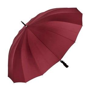 Tmavě červený holový deštník Von Lilienfeld Cleo XXL