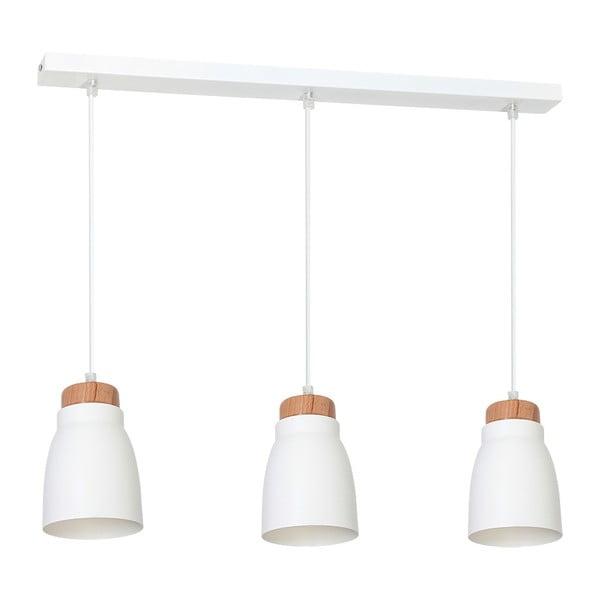 Biała lampa wisząca Evergreen Lights Agnis