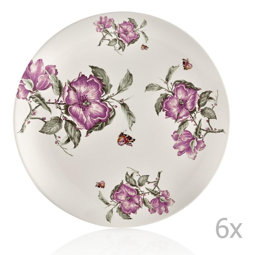 Sada 6 porcelánových talířů Onoufrios