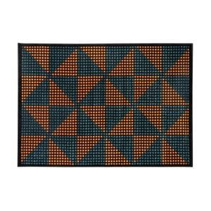 Oranžovo-černý koberec Cosmopolitan design Benelux, 160 x 230 cm