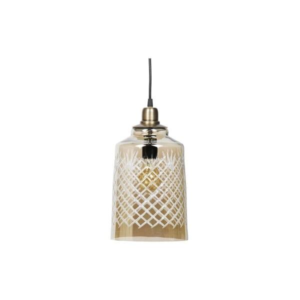 Závěsné svítidlo v barvě mosazi BePureHome, ø19cm