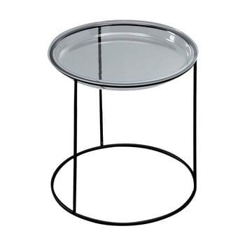 Măsuță auxiliară Design Twist Lafe, negru de la Design Twist