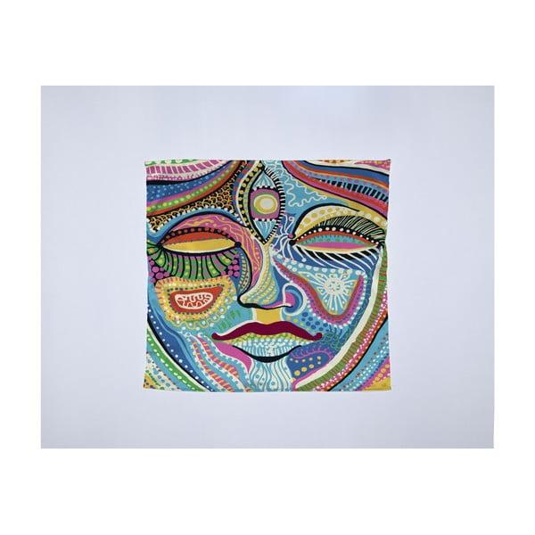 Módna šatka Madre Selva Face, 55×55 cm