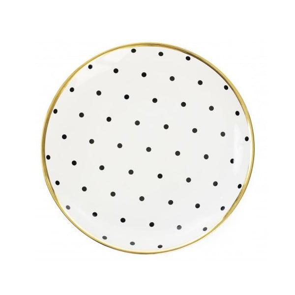 Talíř s puntíky
