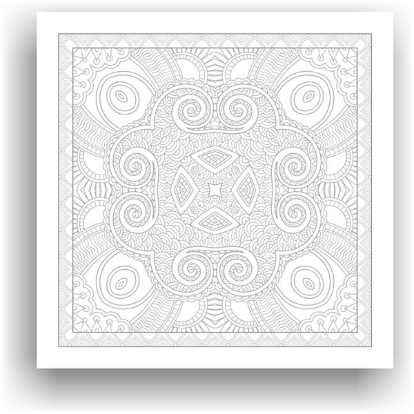 Obraz k vymalování Color It no. 109, 50x50 cm