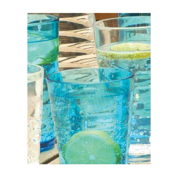 Sada modrých sklenic Contour, 2 ks