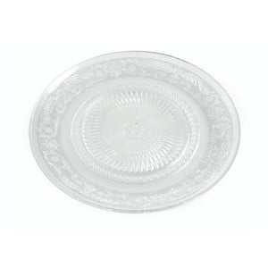Sada 6 bílých dezertních talířů Villa d'Este Imperial