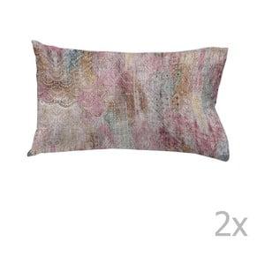 Sada 2 bavlněných povlaků na polštář Ethere Khaule, 50 x 90 cm