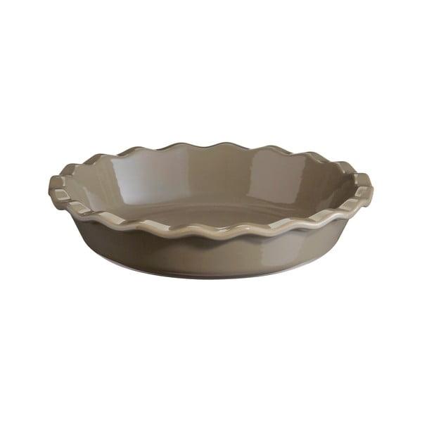 Formă pentru plăcintă Emile Henry, ⌀ 26 cm, gri rândunică