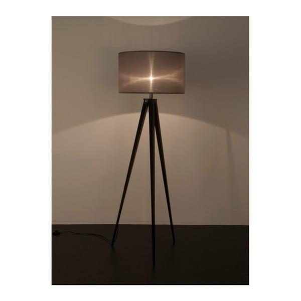 Černo-šedá stojací lampa Zuiver Tripod