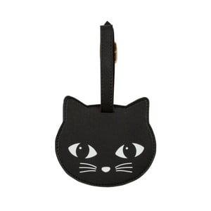 Visačka na kufr Sass & Belle Black Cat