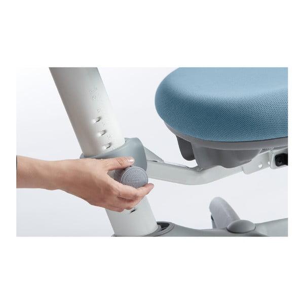 Modrá dětská otočná židle na kolečkách Flexa Verto, 7 - 12 let