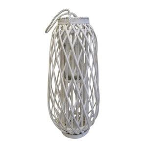 Bílá lucerna Stardeco, 86 cm