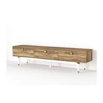 Comodă TV în decor de lemn de nuc Buse de la Tera Home