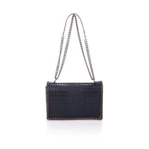Tmavě modrá kožená kabelka Lisa Minardi Ludisia