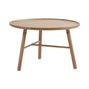Přírodní březový odkládací stolek  Folke Saga