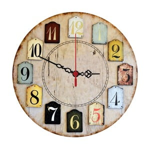 Nástěnné hodiny Numbers, 30 cm
