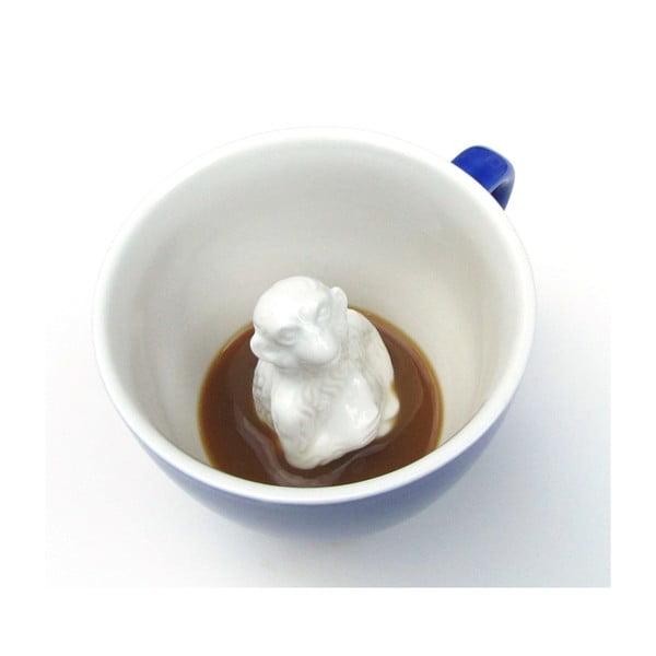 Hrnek Monkey, 325 ml, kobaltově modrý