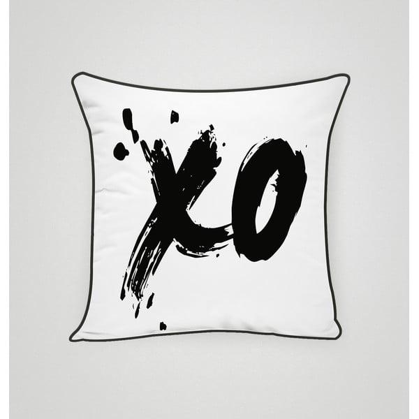 Povlak na polštář XO Black, 45x45 cm