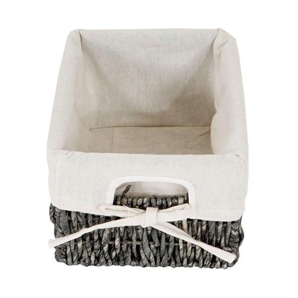 Odkládací košíky Shabby, šedé