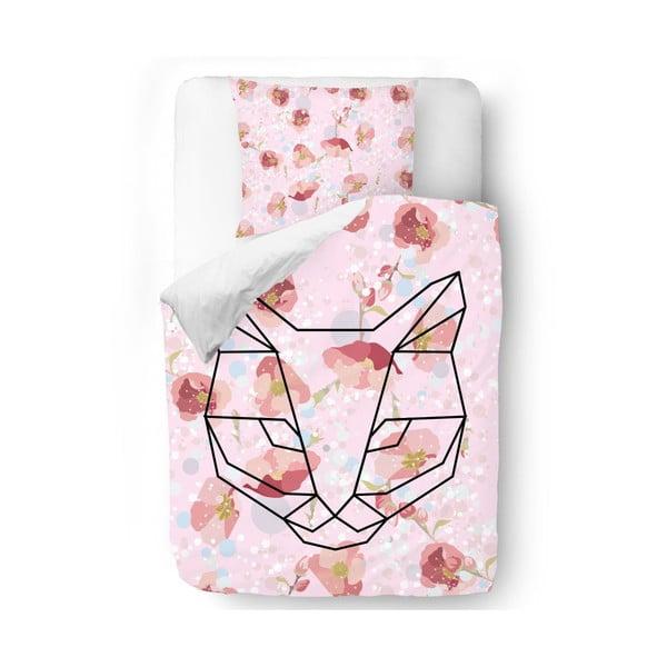 Povlečení Fox and Roses, 140x200 cm