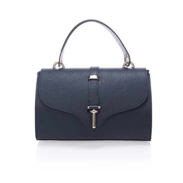 Kožená kabelka Markese 5258 Blue