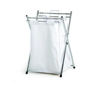 Úložný koš na prádlo, bílý