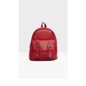 Červený dámský batoh Mori Italian Factory Calessio