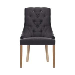 Antracitová židle Jalouse Maison Chiara