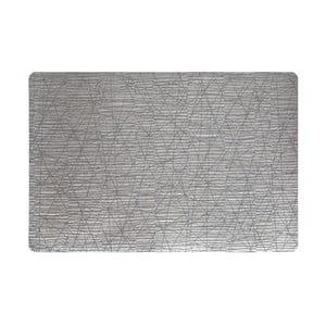 Sada dvou prostírání Lines, silver/grey