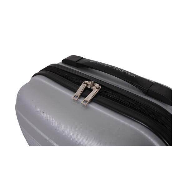 Kufr s příručním zavazadlem Case Jean Louis Scherrer Silver