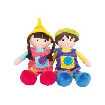 Set 2 păpuși din pluș pentru copii Legler Noah & Emma imagine