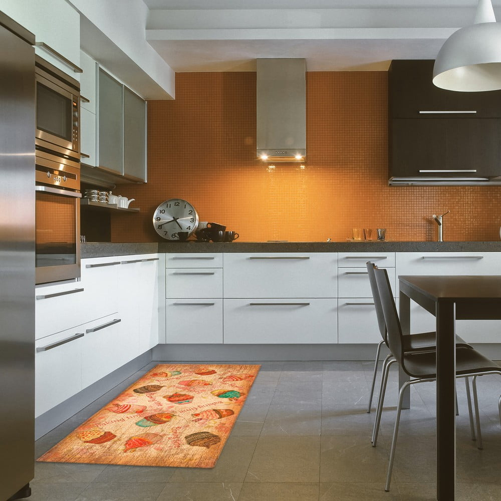 Vysoce odolný kuchyňský koberec Webtappeti Cakes, 60 x 140 cm