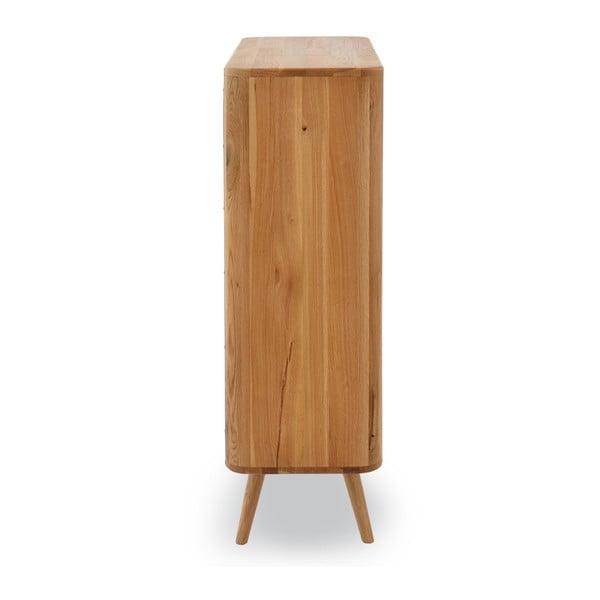 Botník z dubového dřeva Gazzda Ena