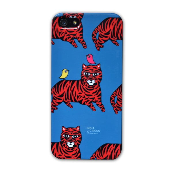 Obal na iPhone 5/5S Jalebi Tiger-with-Birds