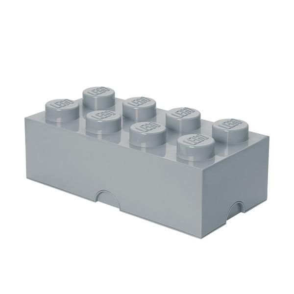 Sivý úložný box LEGO®
