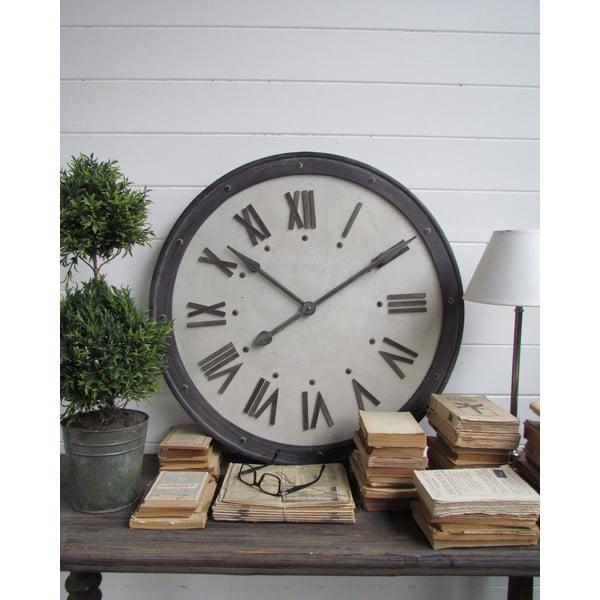 Nástěnné hodiny Industrial, 80 cm