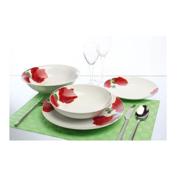 Porcelánová sada 19 talířů Rose