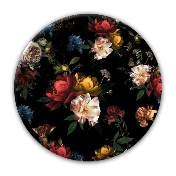 Nástěnná dekorace Styler Glas Ringart Baroque, ø70cm