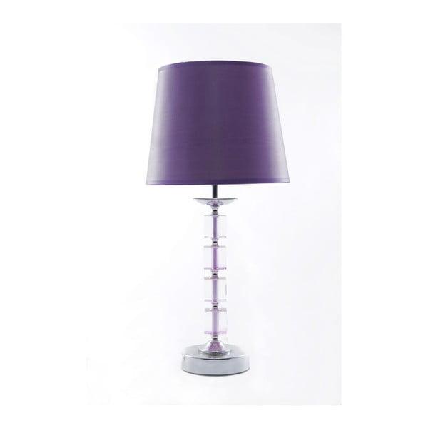 Stolní lampa Tall Violet, 46,5 cm