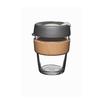 Pahar de voiaj cu capac KeepCup Brew Cork Edition Press, 340 ml imagine
