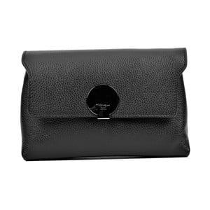 Černá kožená kabelka Anna Luchini Mia