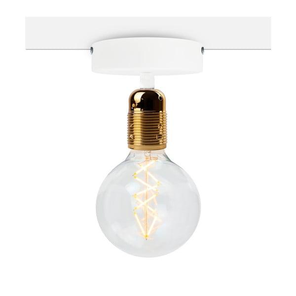 Plafonieră Bulb Attack Uno Basic, alb - auriu