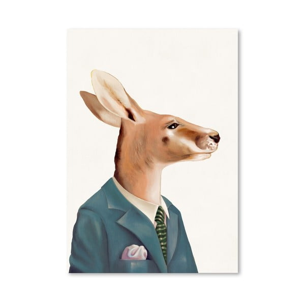 Plakát Kangaroo, 30x42 cm