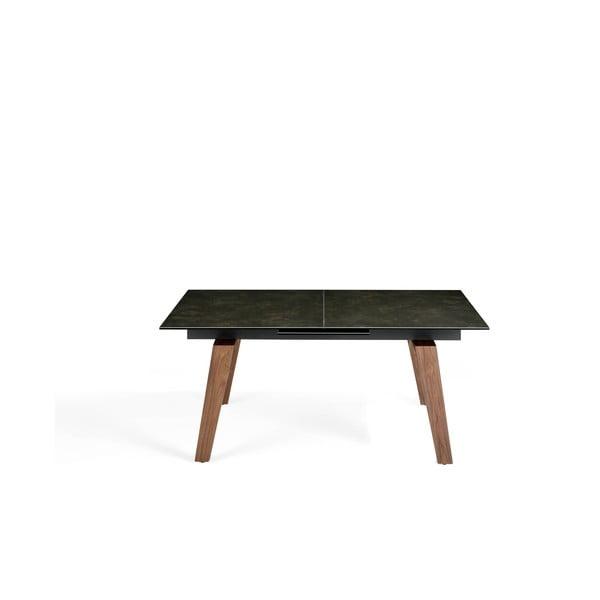 Rozkładany stół z czarnym blatem Ángel Cerdá Porta