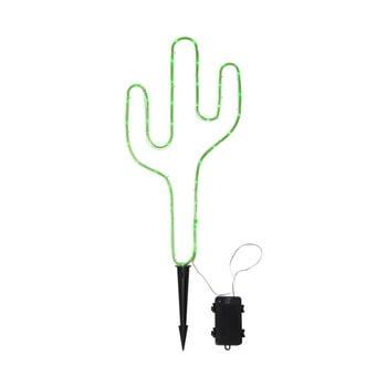 Decorațiune LED în formă de cactus Best Season Tuby, verde imagine