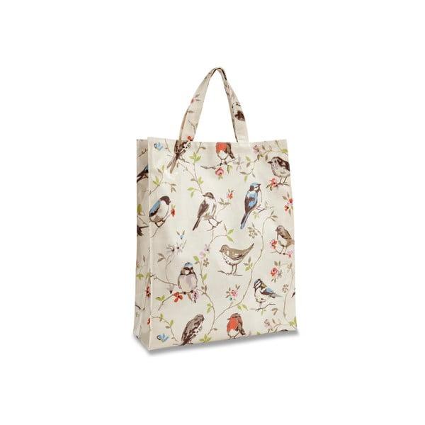 Nákupní taška z bavlny Cooksmart England Dawn Chorus, 30x38cm